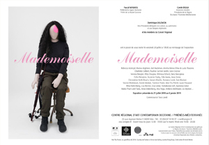 Invitation vernissage Mademoiselle
