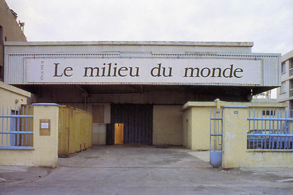 Le centre d'art avant sa réhabilitation, en 1993